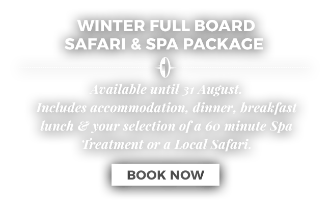 Winter Full Board Safari & Spa Package at Ghost Mountain Inn in Zululand