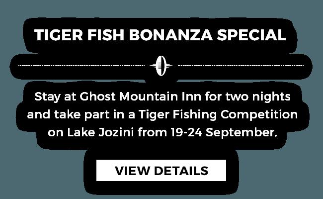 Tiger Fish Bonanza Special at Ghost Mountain Inn